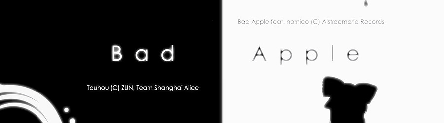 Bad Apple!! feat. nomico (Tracy vs. Astronomical Remix)